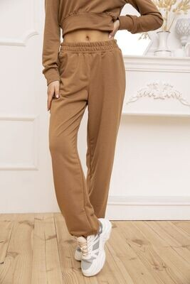 Women's joggers color Brown