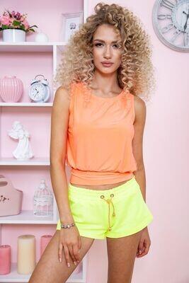 T-shirt female color Orange