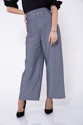 Culottes color Gray
