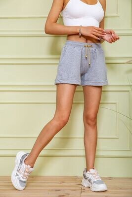 Women's shorts color Gray