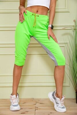 Shorts for women color Gray-green