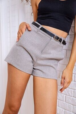 Shorts for women classic color Gray