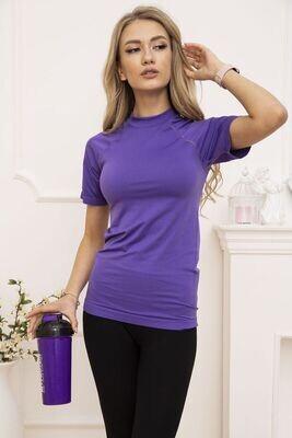 Women's sports t-shirt color Purple