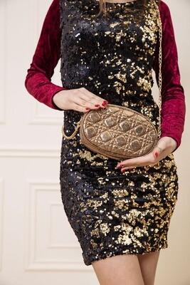 Dark Gold Belt Bag