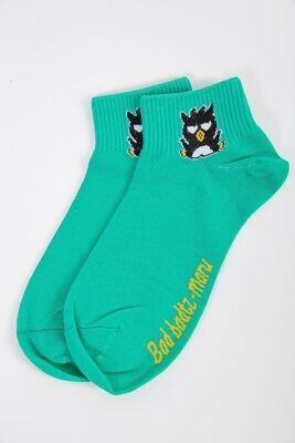 Women's socks color Light green