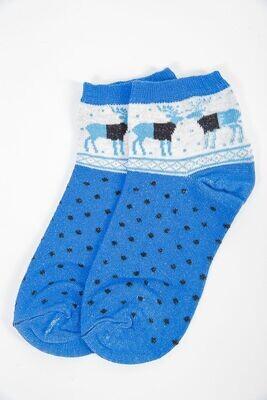 Women's socks color Blue
