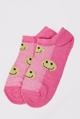 Women's short socks color Light green