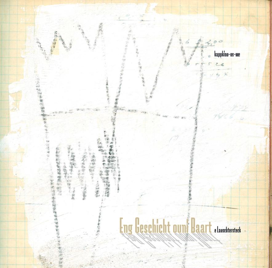 Kappkino 'Eng Geschicht ouni Baart': 180gr. double vinyl Preorder