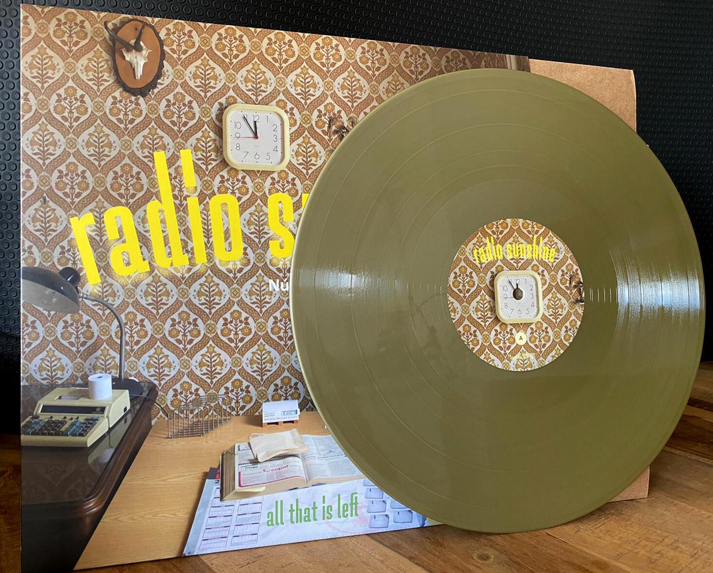 Radio Sunshine, All that is left 180gr Gold color 12