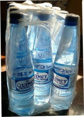 75cl Quincy water pack