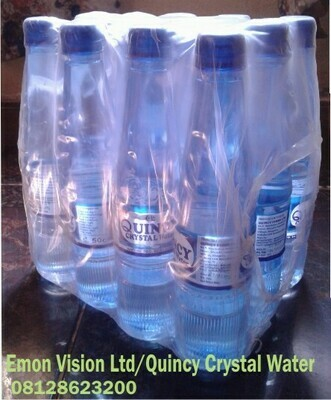 50cl Quincy Crystal Water Pack