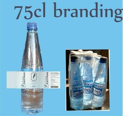 75cl Branding per pack