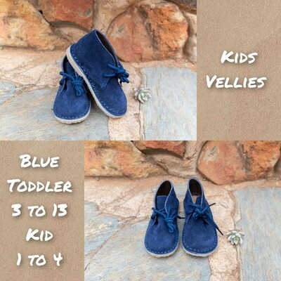 Infant and kids vellies