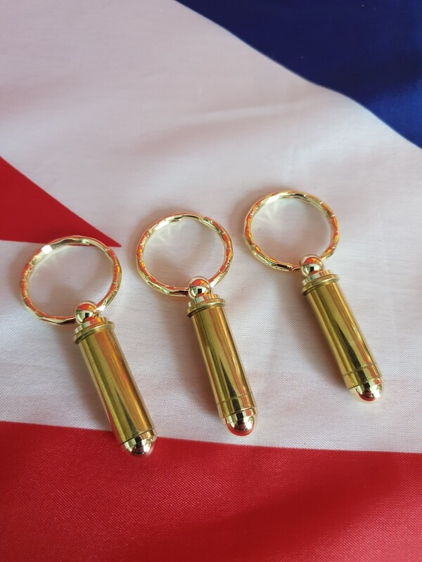 .38 Bullet Key Rings