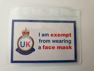 Mask Exemption Card