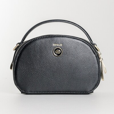 Esfolar Black Round Sling Bag