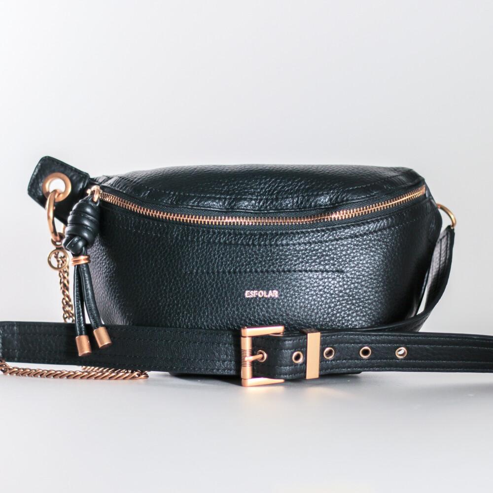Esfolar Black Crossbag
