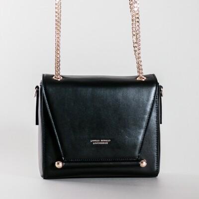 Charles Berkeley Black Hand Bag/Sling Bag