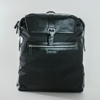 Charles Berkeley Black Backpack - N1