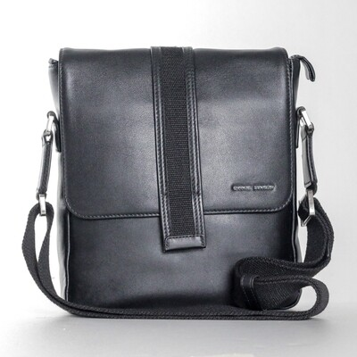 Charles Berkeley Men Black Sling Bag
