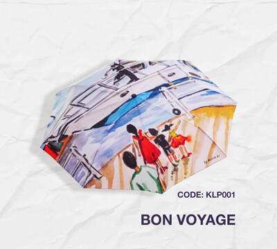 Retractable Umbrella: Bon Voyage