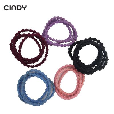 CINDY Hair Tie Box Elastic Hair Rubber Bands