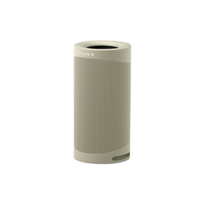 SONY SRS-XB23 EXTRA BASS TAUPE WIRELESS PORTABLE BLUETOOTH SPEAKER