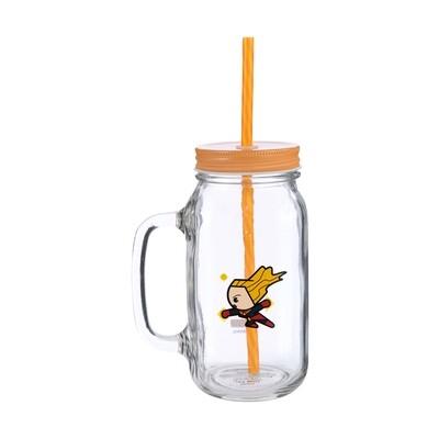 MARVEL Jar Mug.Captain Marvel