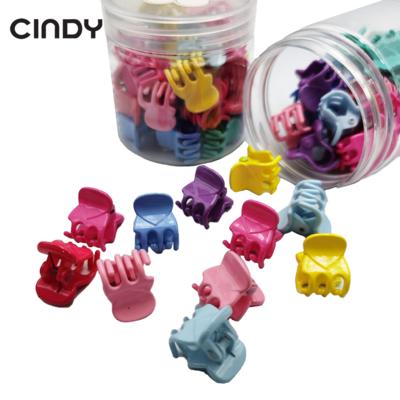 Colorful Small Hair Sharkclip In Bottle Girl kids Hairclip