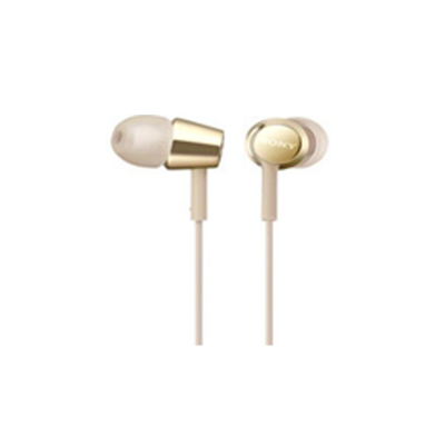 SONY MDR-EX155 GOLD SMALL SIZE EARPHONE