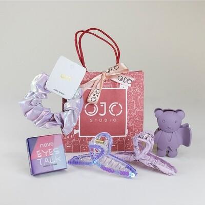 Vanity Bag Purple + Free Eyeshadow