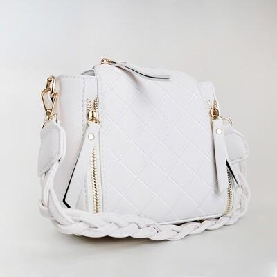 CINDY White Crossbody Sling Bag / Shoulder Bag - G3