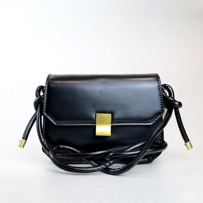CINDY Black Fashion Sling Bag - F1