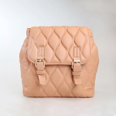 CINDY Orange Vintage Backpack - H3