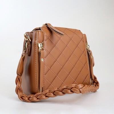 CINDY Brown Crossbody Sling Bag / Shoulder Bag - G2