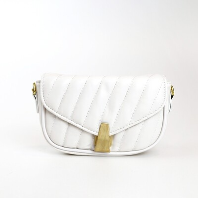 CINDY White Casual Sling Bag/ Shoulder Bag With Coin Purse - D3