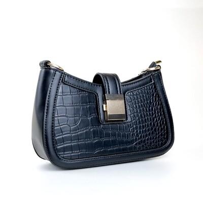 CINDY Black Ladies Shoulder Bag / Handbag - A1