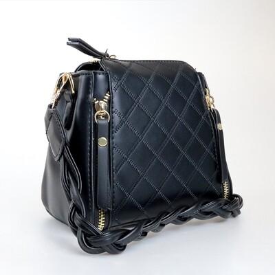 CINDY Black Crossbody Sling Bag / Shoulder Bag - G1