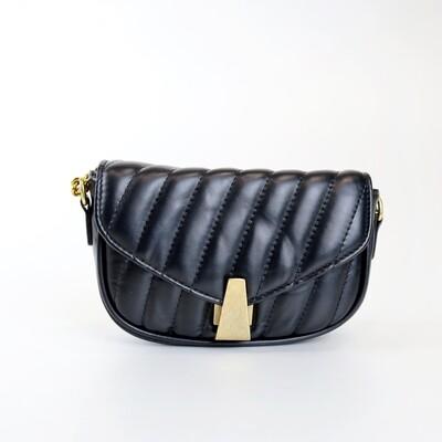CINDY Black Casual Sling Bag/ Shoulder Bag With Coin Purse - D1