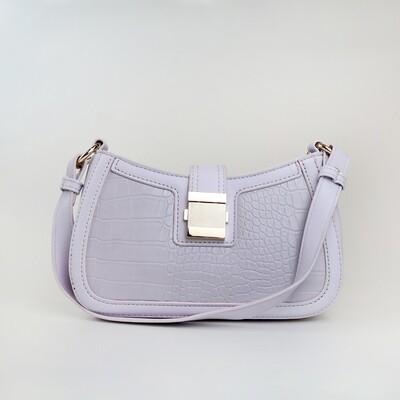 CINDY Light Purple Ladies Shoulder Bag / Handbag - A3