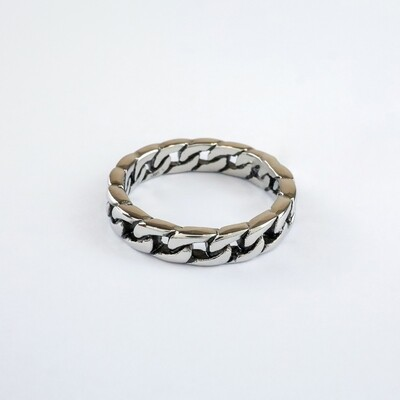 Silverland Stainless Steel 5mm Chain Ring