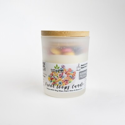Froot Loops Candle Jar - 200g