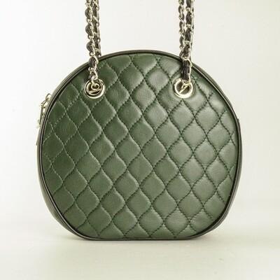 Charles Berkeley Sophie Dark Green Handbag - B2