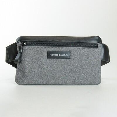 Charles Berkeley Evans Grey Wrist Bag - E1