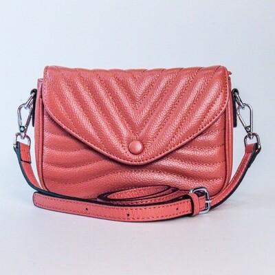 Esfolar Orange Brown Envelope Handbag - I1