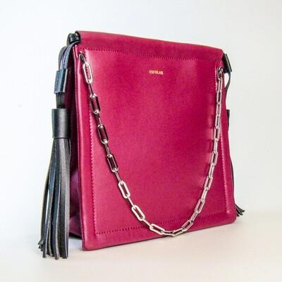 Esfolar Maroon Tassel Handbag - K2