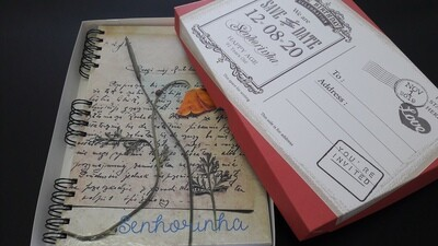 Caderno com Capa Personalizada