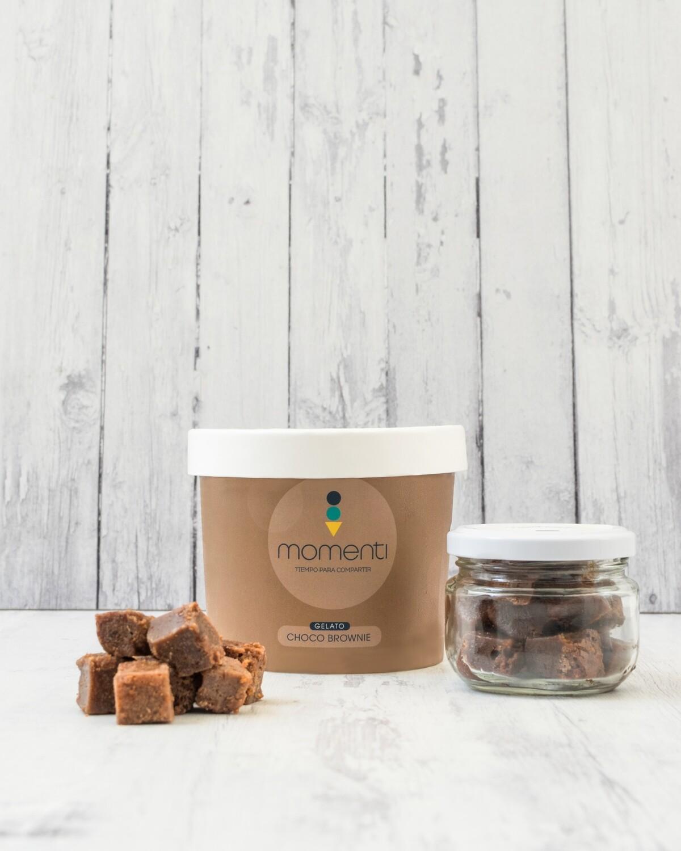 Gelato o Sorbetto Mediano (500ml) + Mini Jar Brownie Bites Gratis (60gr)