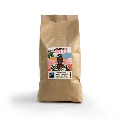 Jenipher's Coffi 1kg Whole bean | Ffa