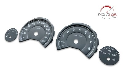 3D BMW F8x, M3, M4 dials - From MPH to km/h conversion